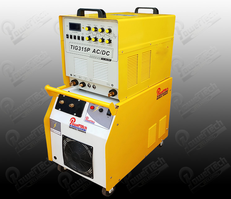 Aluminum welding machine